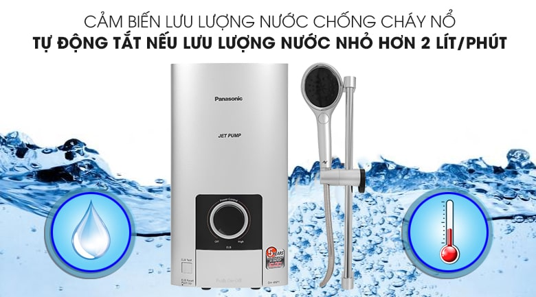 Máy nước nóng Panasonic DH-4NP1VS